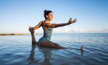 Yoga tips para viajar o trabajar desde casa