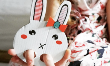 Easter Bunny Hand Puppet