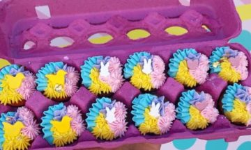 Online Easter Cupcake Decorating Class