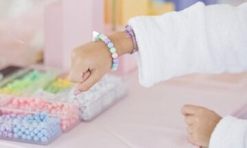 Gratitude Bracelet Station for Kids