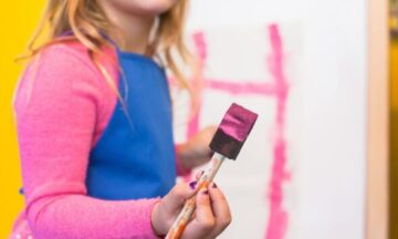 Paint into Positive Energy for Kids