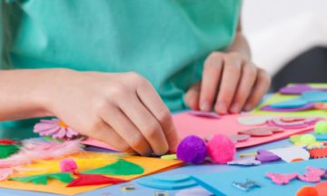 Mindful Movement + Crafts for kids